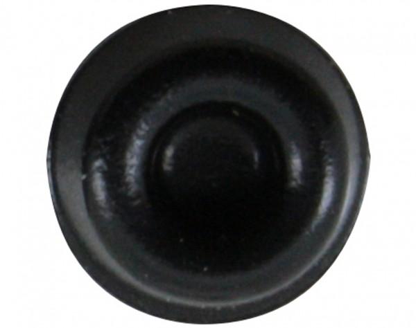 E22 - Gerätefüße schwarz, rund, Ø 22,3 mm