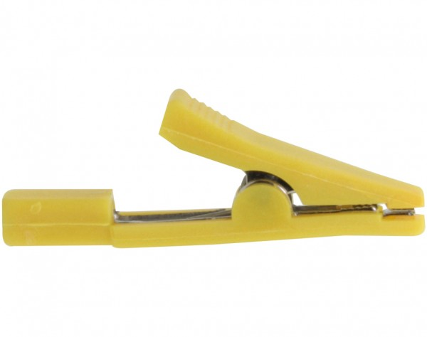MA13 - Miniatur Abgreifklemme gelb