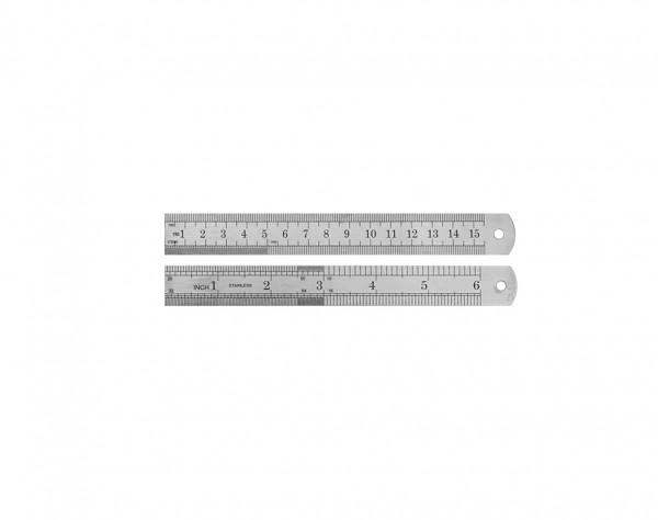 MLS15 - Stahl-Lineal 150 mm