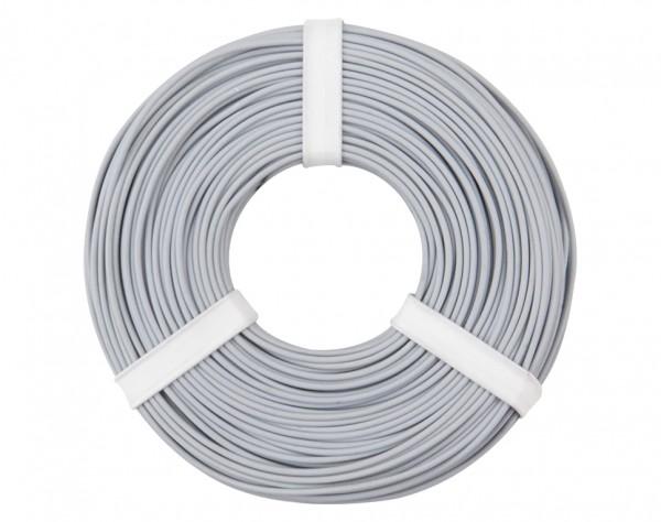 125-059 - Kupferschalt Litze 0,25 mm² / 50 m / grau