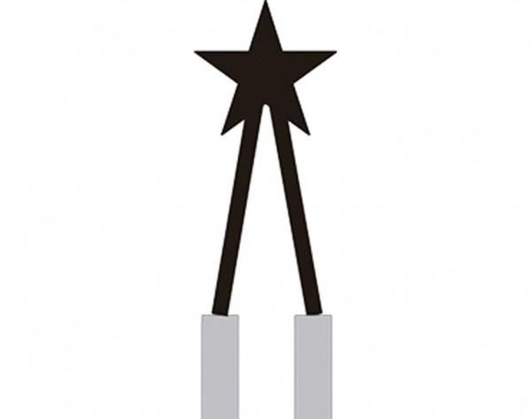 ST17151 - Brennspitze sternförmig