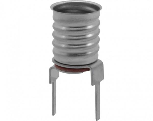 782 - Lampenfassung E10 Schwachstrom, für Leiterplatten