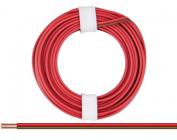 225-08 - Zwillingslitze 0,25 mm² / 5 m rot-braun