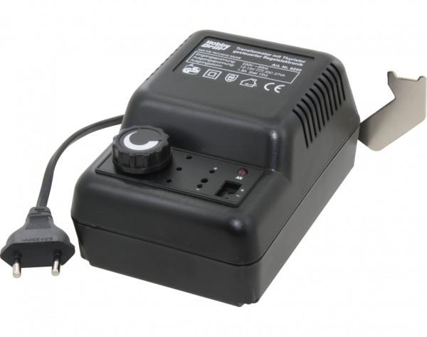 0255 - Transformator stufenlos regebar - 12-15 VDC - 27VA