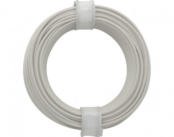 105-5 - Kupferschalt Draht 0,5 mm / weiss