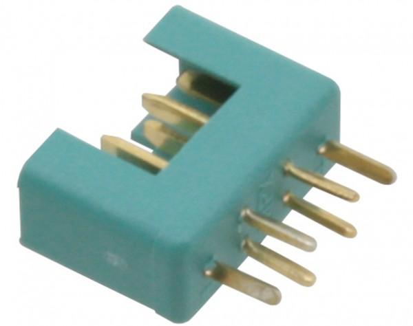 NMS6 - Hochstrom Stecker Multiplex türkis-grün
