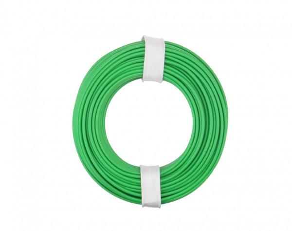 125-014 - Kupferschalt Litze 0,25 mm² / 10 m / grün