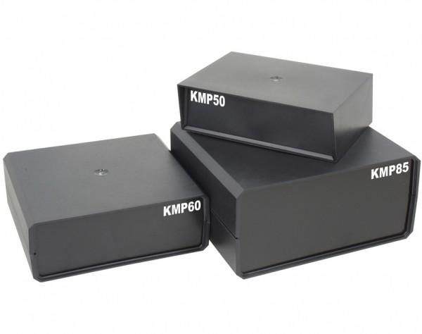 KMP85 - Kunststoff Modul Gehäuse 175x160x85 mit 4 Gerätefüßen