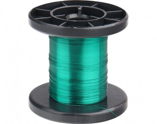 LD15-4 - Kupfer Lackdraht Ø 0,15 mm grün