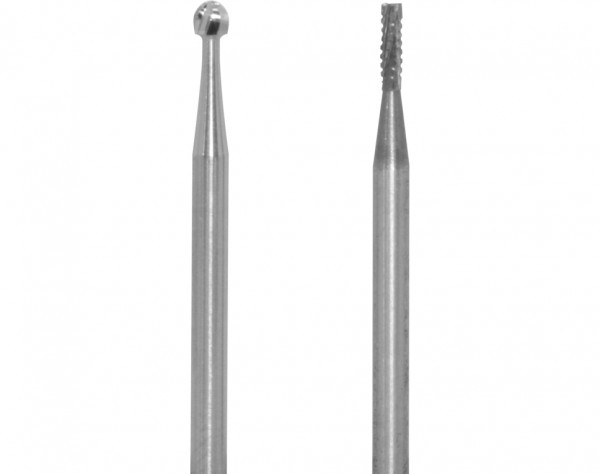 1708 - 2 Hartmetallfräser Ø 1,8 + 2,3 mm