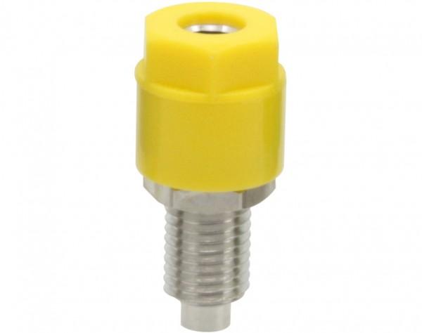 3233 - Telefonbuchse 4mm gelb