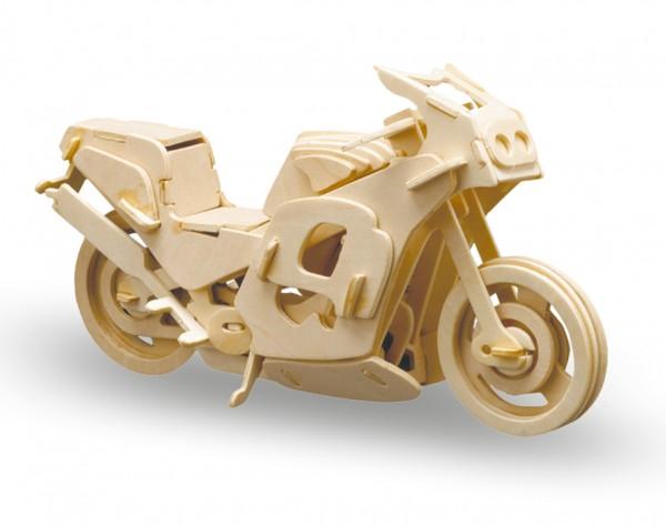 M865-8 - Holzbausatz Rennmotorrad