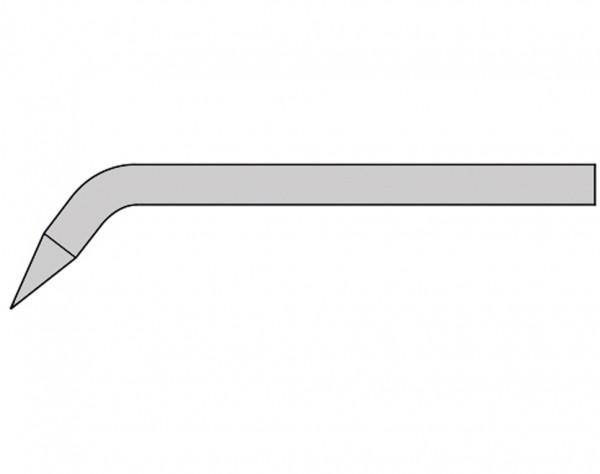 GS361 - 4 mm Lötspitze - Bleistiftform gewinkelt