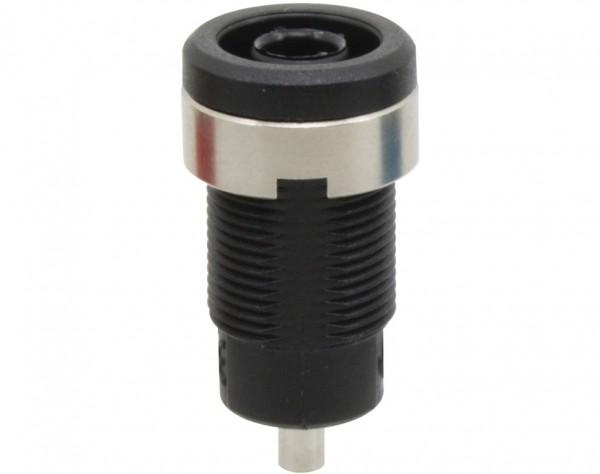 3271 - Sicherheitsbuchse 4mm schwarz