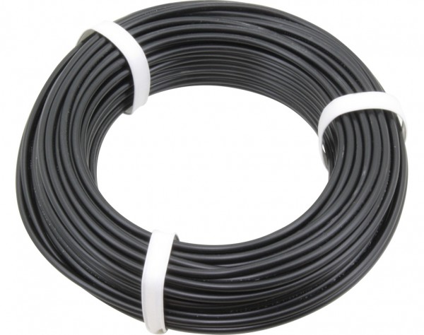 2501 - PVC Messkabel schwarz