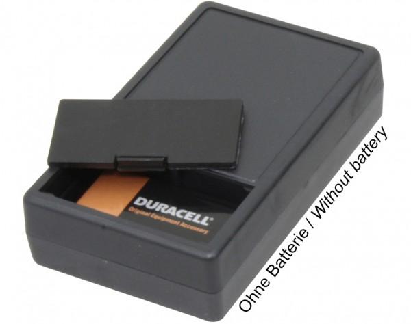 G01B - PVC Gehäuse mit Batteriefach für 9V Blockbatterie