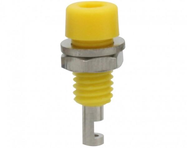223 - Miniaturbuchse 2mm gelb