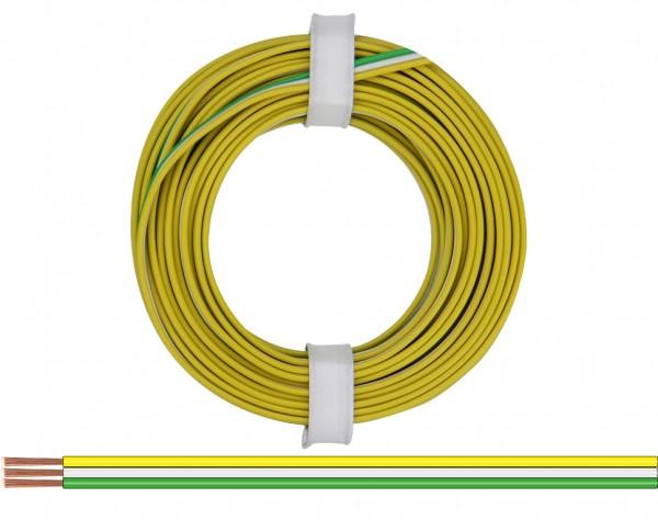 318-354 - Drillingslitze 0,14 mm² / 5 m gelb - weiss - grün