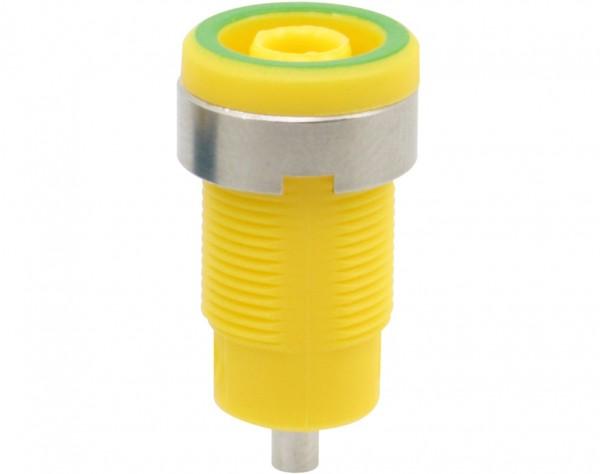 3276 - Sicherheitsbuchse 4mm gelb-grün