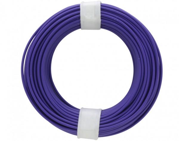 105-6 - Kupferschalt Draht 0,5 mm / violett