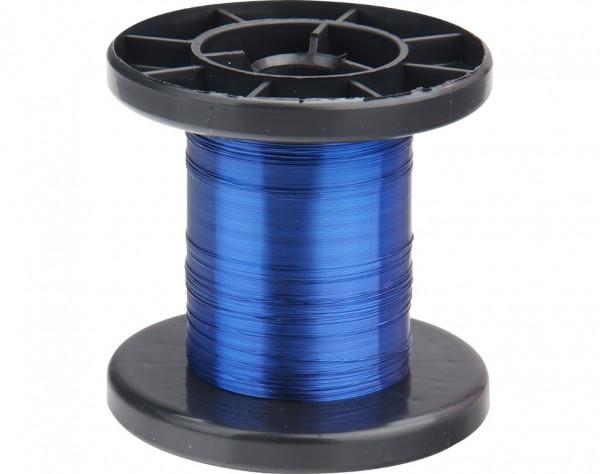 LD15-2 - Kupfer Lackdraht Ø 0,15 mm blau