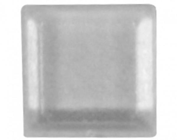 E12T - Gerätefüße klar, quadratisch, 12 mm