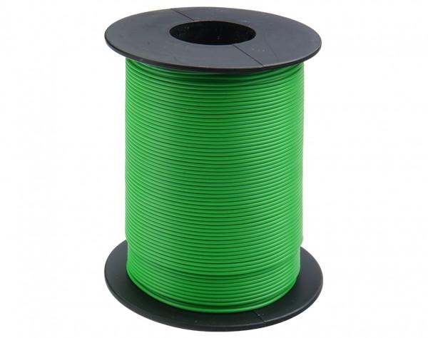 125-S50-4 - Kupferschaltlitze 0,25 mm² / 50m auf Spule grün