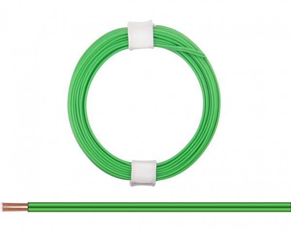 114-44 - Zwillingslitze 0,08 mm² / 5 m grün-grün