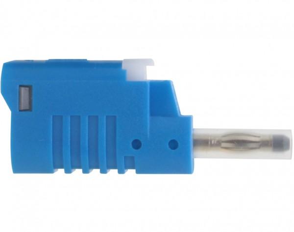 1082 - Sicherheits Laborstecker 4mm blau