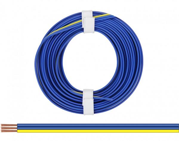 318-223 - Drillingslitze 0,14 mm² / 5 m blau - blau - gelb