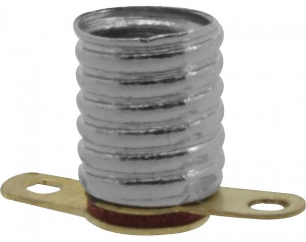 771 - Lampenfassung E5,5 Schwachstrom, mit Lötösen