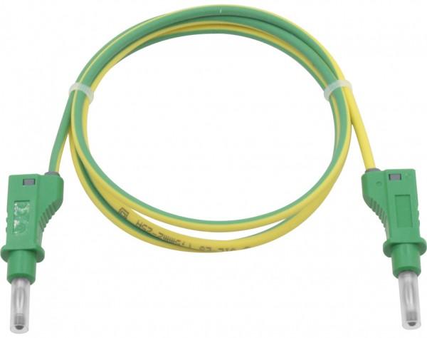 2126 - Silikon Sicherheitsmessleitung gelb-grün