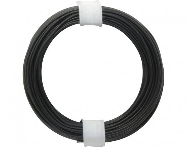 105-1 - Kupferschalt Draht 0,5 mm / schwarz