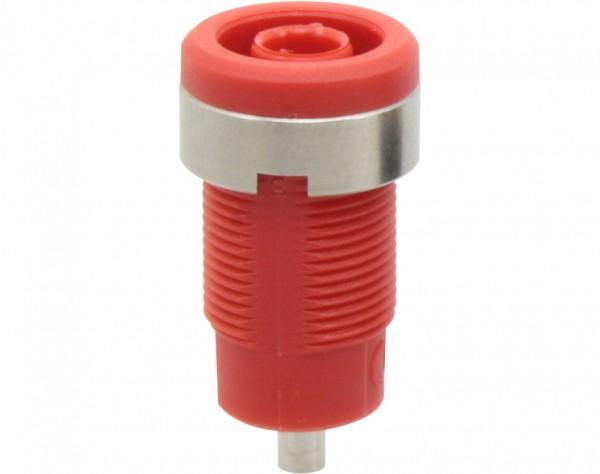 3270 - Sicherheitsbuchse 4mm rot