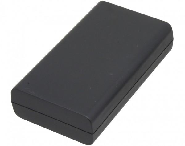 K10 - Halbschalengehäuse 120x30x70 schwarz