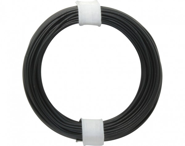 118-1 - Kupferschalt Litze 0,14 mm² / 10 m / schwarz
