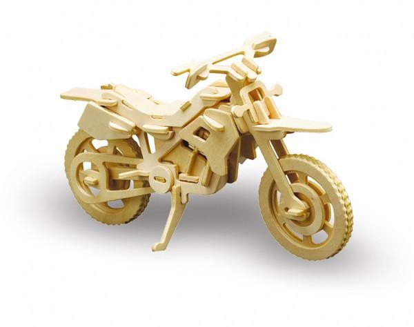 M850-6 - Holzbausatz Cross Motorrad
