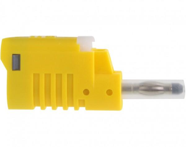 1083 - Sicherheits Laborstecker 4mm gelb