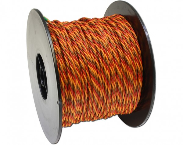 350G - PVC Kabel 3-adrig 100m für Graupner
