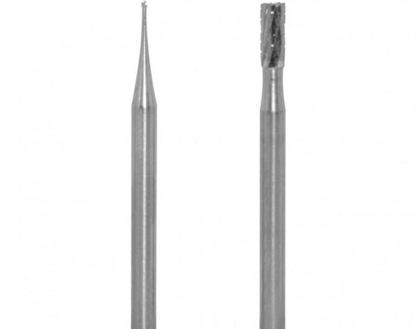 1709 - 2 Hartmetallfräser Ø 0,5 + 2,3 mm