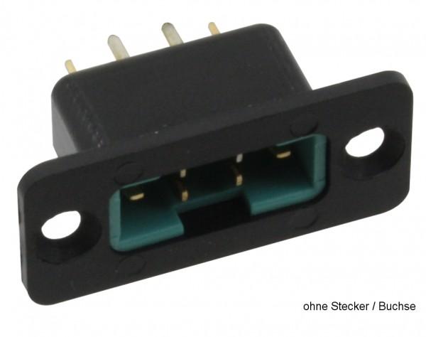 NE120 - Rahmen für Hochstrom Stecker + Buchse lang