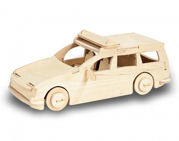 M851-3 - Holzbausatz Polizeiauto