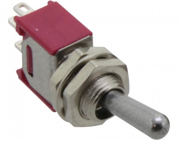 SKS241A - Miniatur Kippschalter, 1-pol., Umschalter, ON-ON
