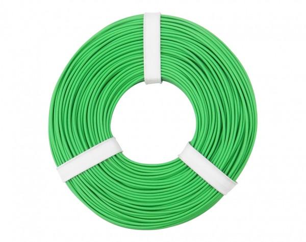 125-054 - Kupferschalt Litze 0,25 mm² / 50 m / grün