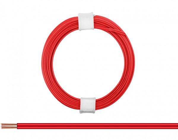 114-00 - Zwillingslitze 0,08 mm² / 5 m rot-rot