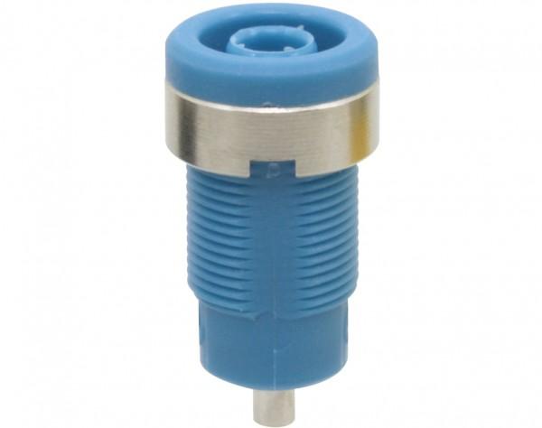 3272 - Sicherheitsbuchse 4mm blau