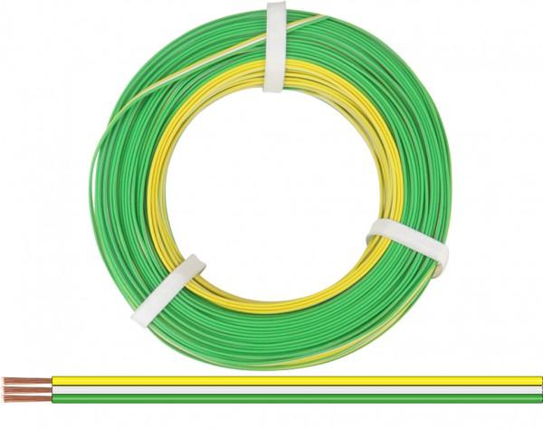 318-354-25 - Drillingslitze 0,14 mm² / 25 m gelb-weiss-grün