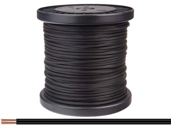 218-11-100 - Zwillingslitze 0,14 mm² / 100 m schwarz-schwarz