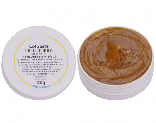 LP20 - Lötpaste Iso-Flux Dose 20g